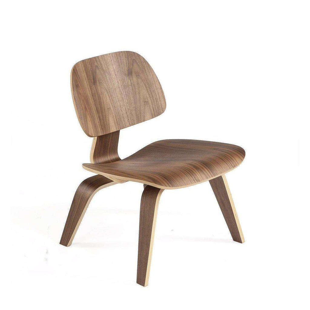 Mid-Century Modern Reproduction LCW Molded Plywood Lounge Chair Wood Base Inspired by Charles and Ray E.