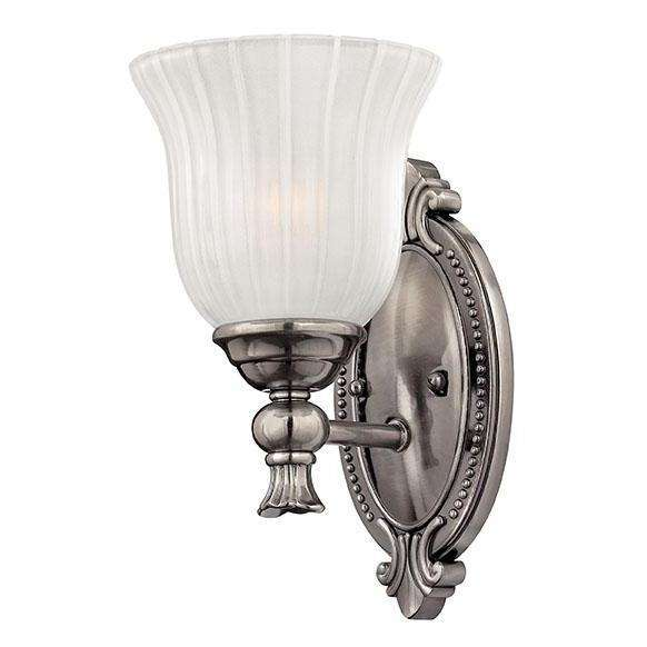 Bath Francoise Bath Sconce Polished Antique Nickel