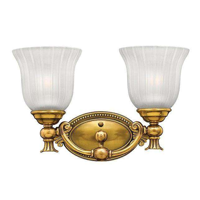 Bath Francoise Bath Two Light Burnished Brass