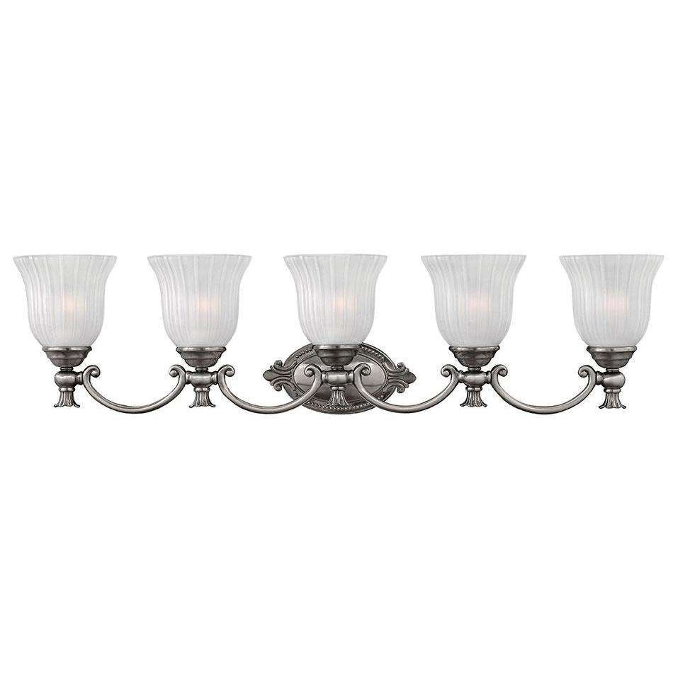 Bath Francoise Bath Five Light Polished Antique Nickel