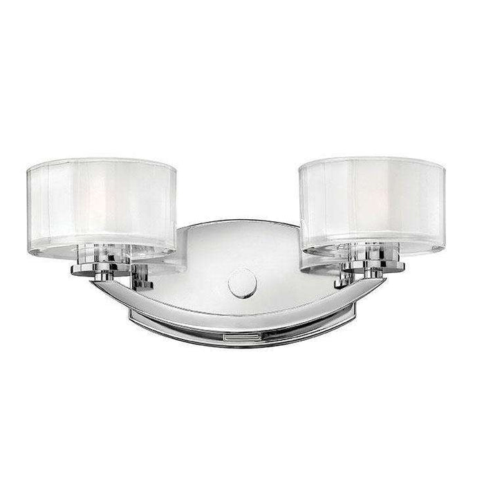 Bath Meridian Bath Two Light Chrome