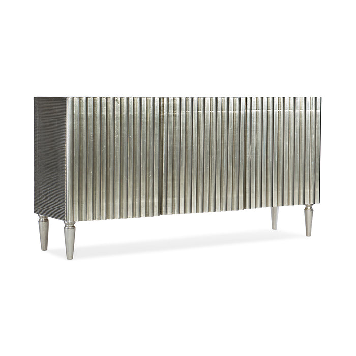 German Silver Entertainment Console