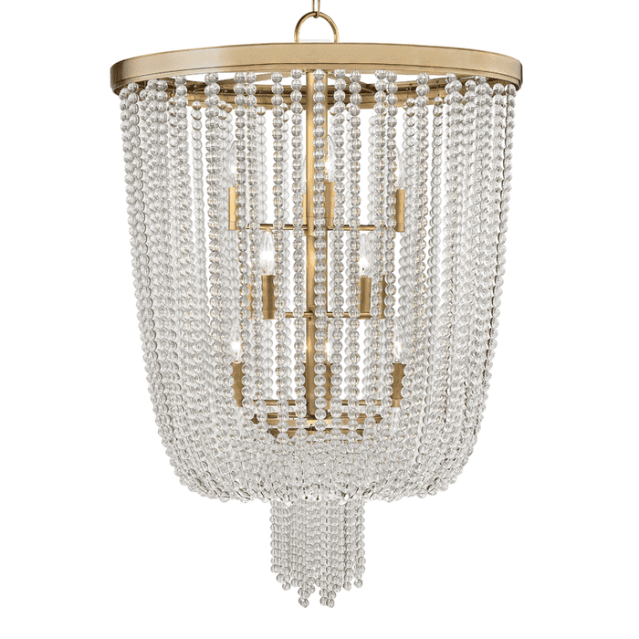 Royalton 12 Light Pendant Aged Brass