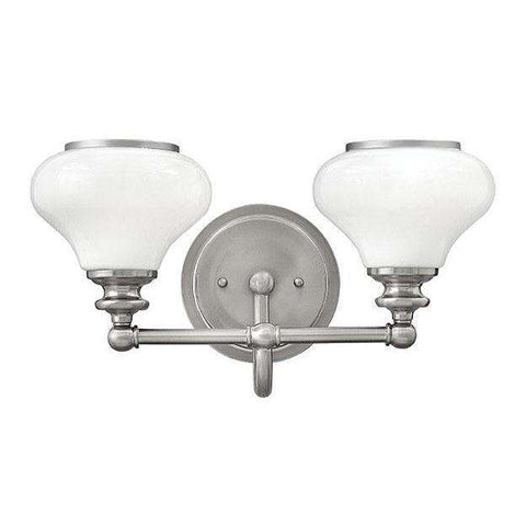 Bath Ainsley Bath Two Light Brushed Nickel