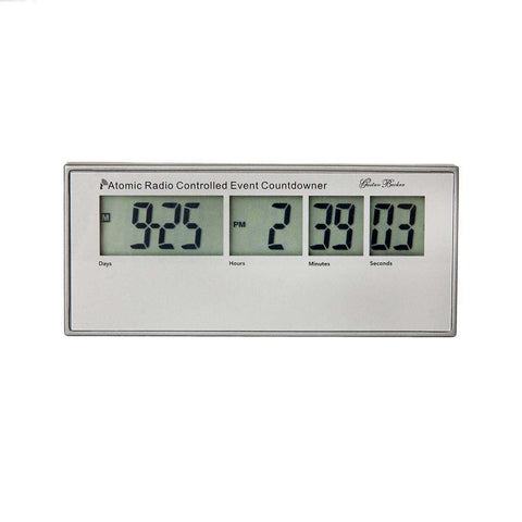 Digital Atomic Radio Controlled Countdown Clock [50gift]  (Pack of 10)