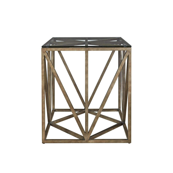Authenticity Truss Square End Table