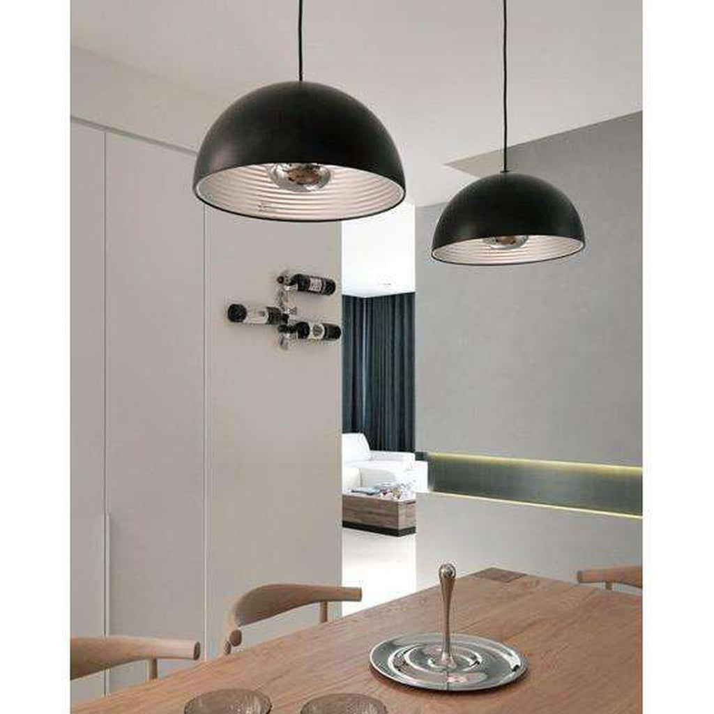 Dome Pendant Large - Black