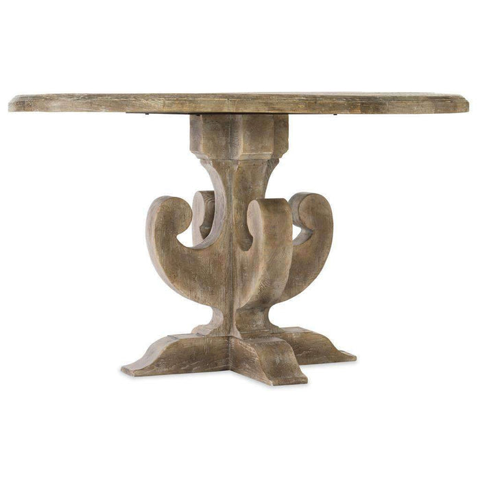 Boheme Ascension 48in Wood Round Dining Table
