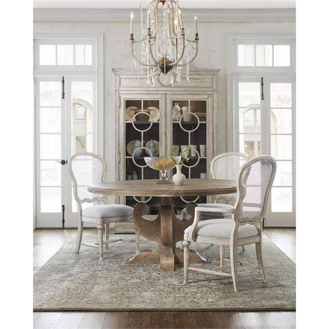 Boheme Ascension 60in Wood Round Dining Table