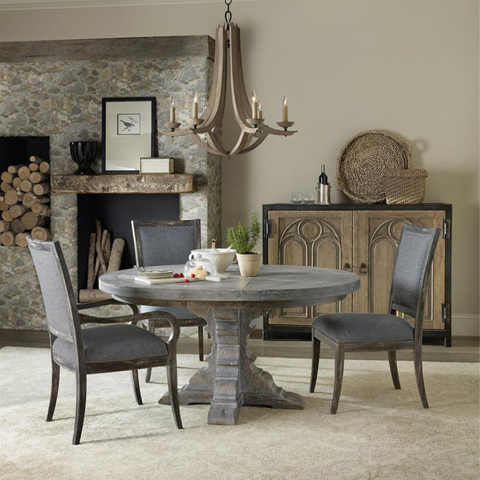 Beaumont Extendable Round Dining Table