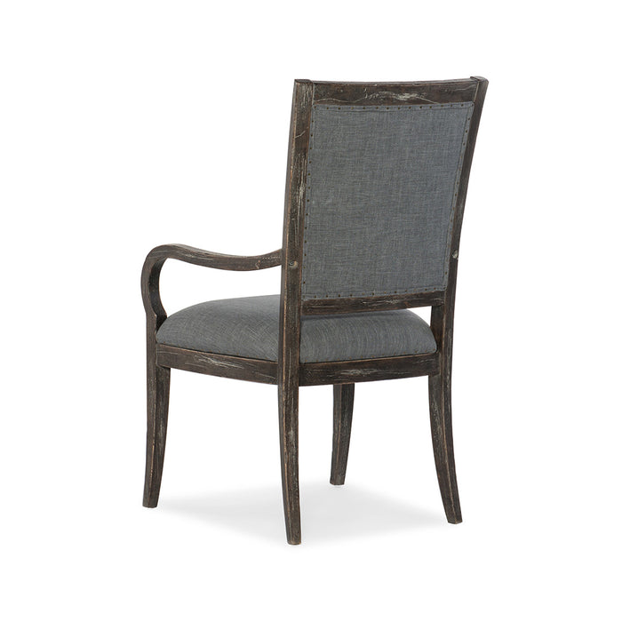 Beaumont Upholstered Arm Chair-Set of 2