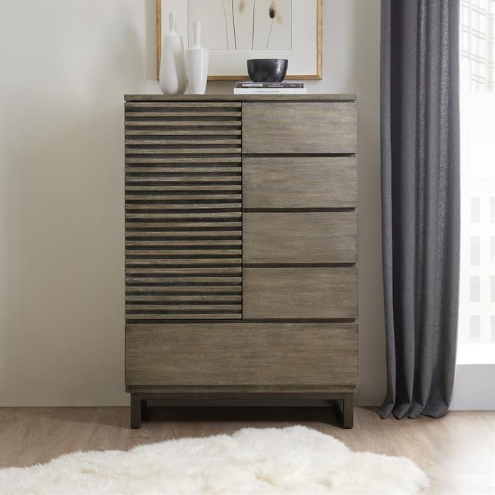 Annex Door/Drawer Asymmetrical Chest