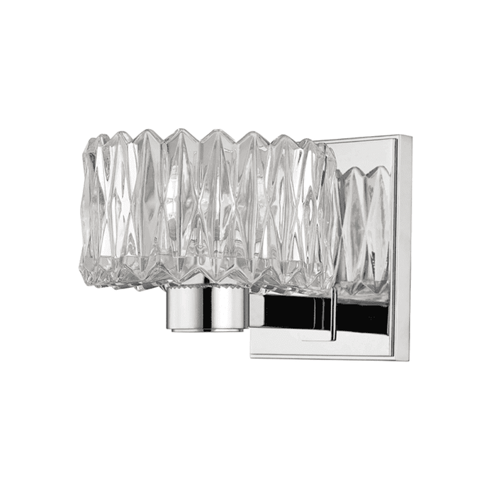 Anson 1 Light Bath Bracket Polished Chrome