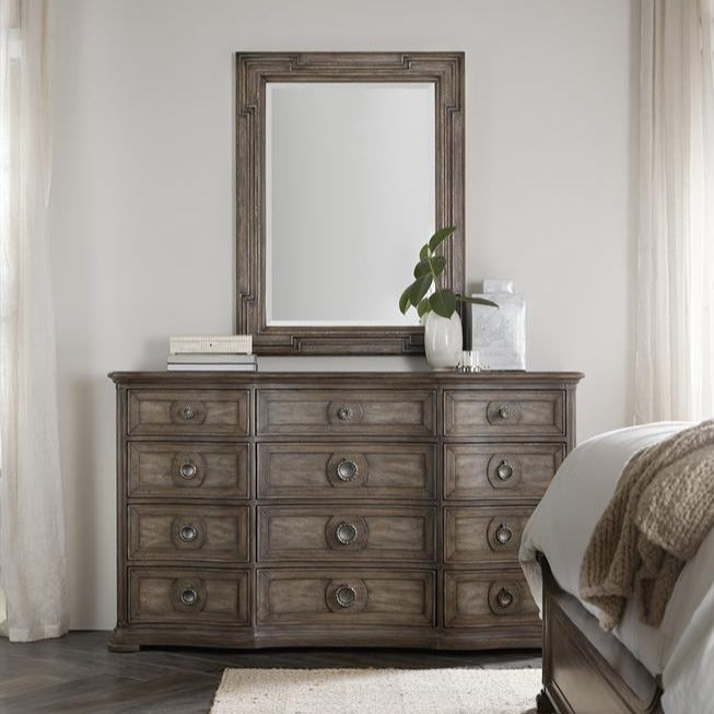 Woodlands Twelve-Drawer Dresser