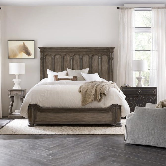 Woodlands King Panel Bed