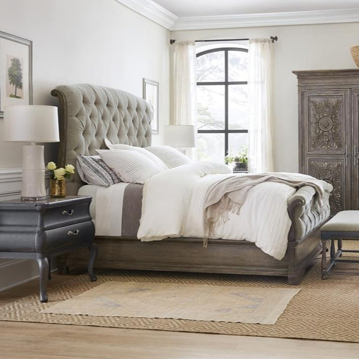 Woodlands King Upholstered Bed