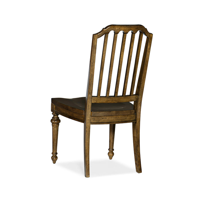 Ballantyne Wood Seat Side Chair-Set of 2
