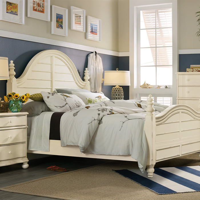 Sandcastle Wood Panel Bed