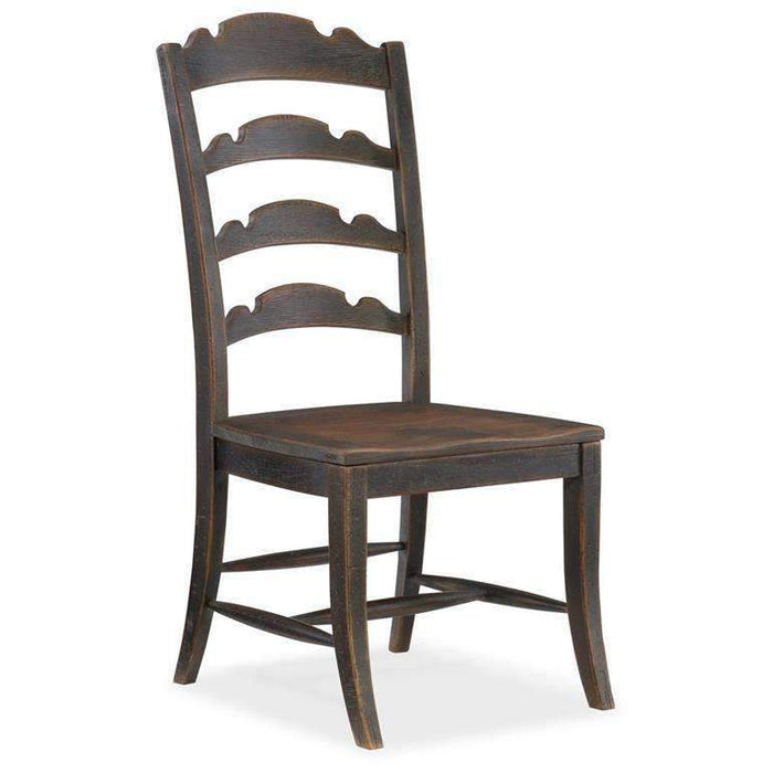 Twin Sisters Ladderback Side Chair-Set of 2