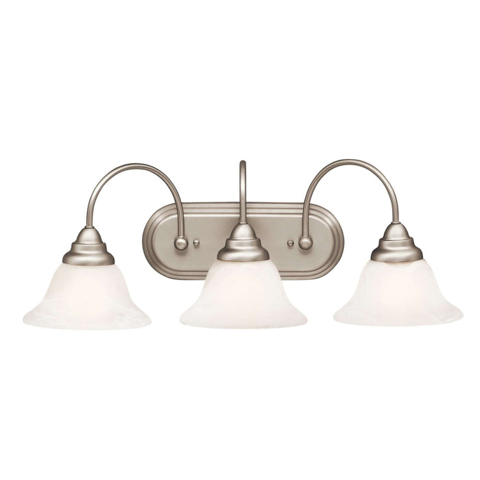 Telford Bath 3 Light - Brushed Nickel