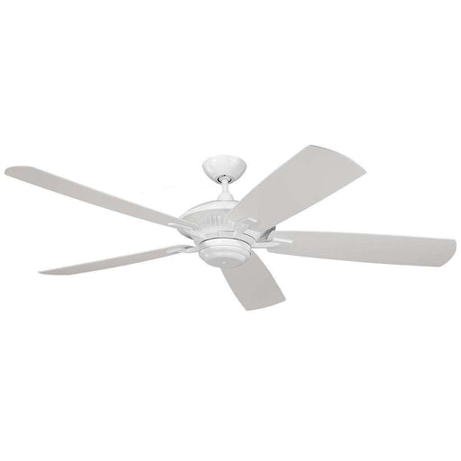"60"" Cyclone Outdoor Fan - White"
