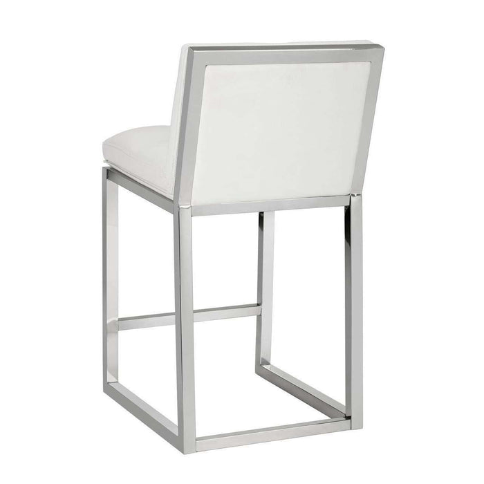 ALBA COUNTER STOOL - WHITE