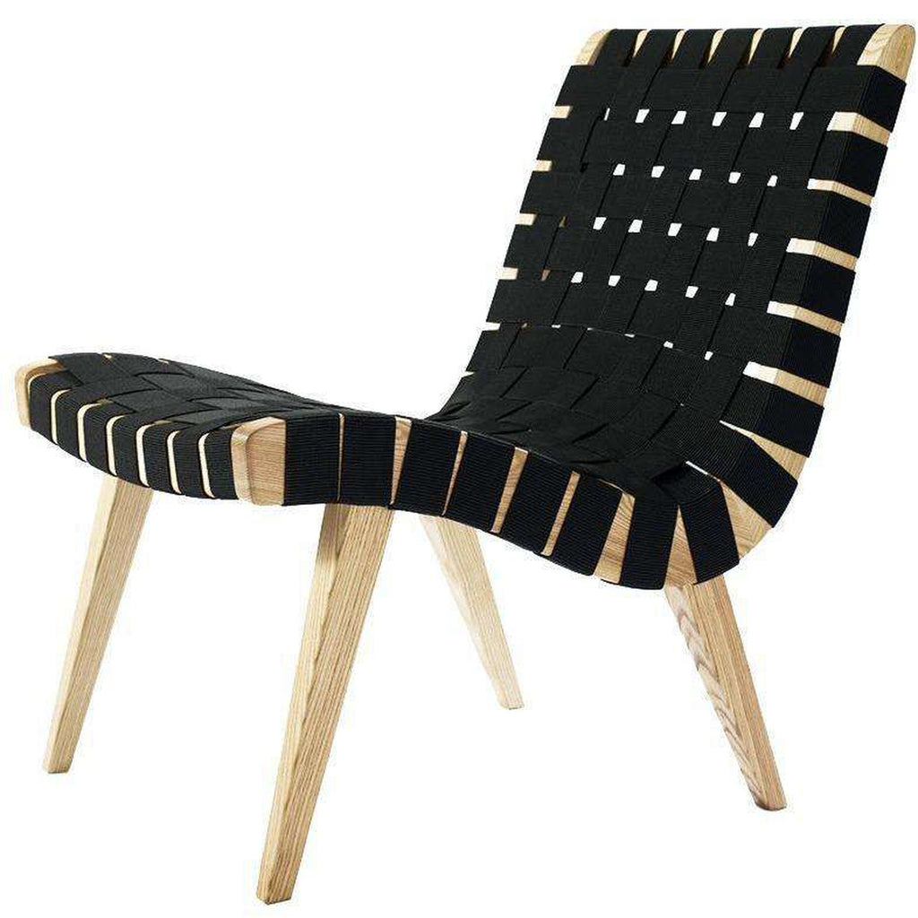 Risom Lounge Chair - Black