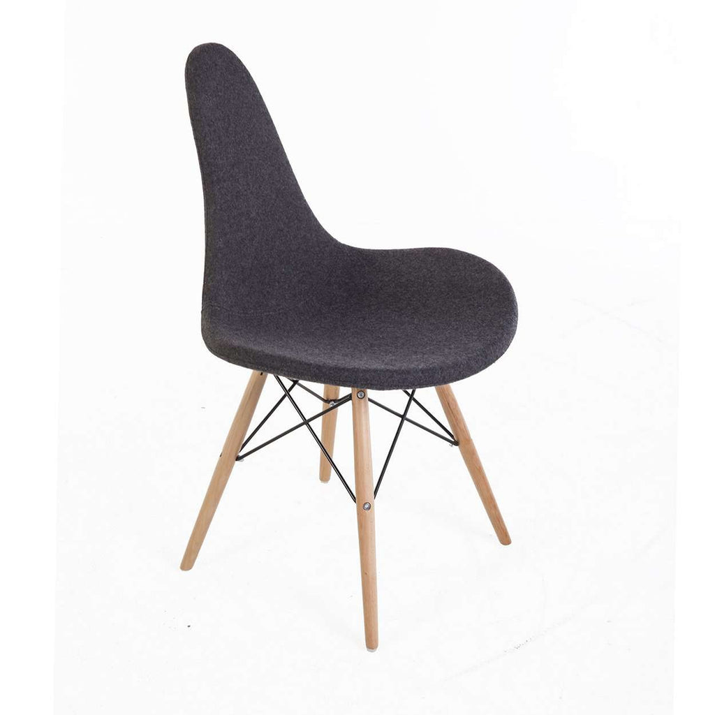 Modern Klemme Side Chair - Grey
