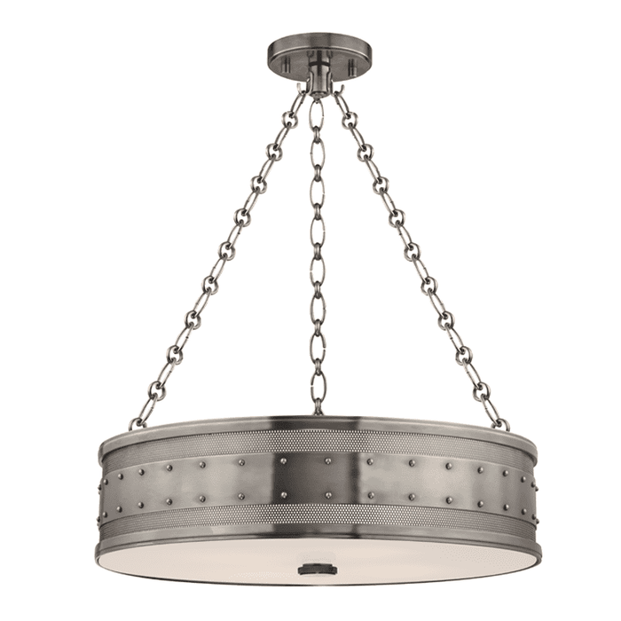 Gaines 4 Light Pendant Historic Nickel
