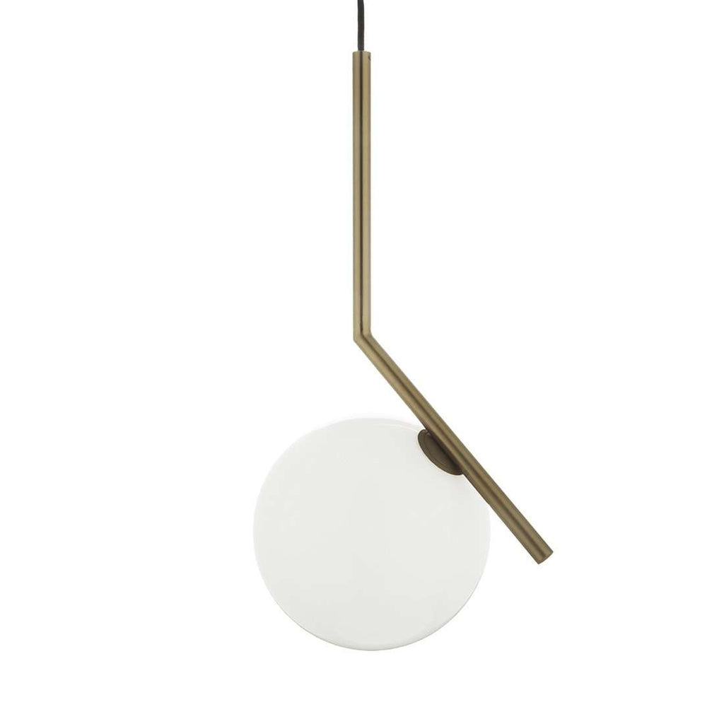 Brass Ball Pendant Light