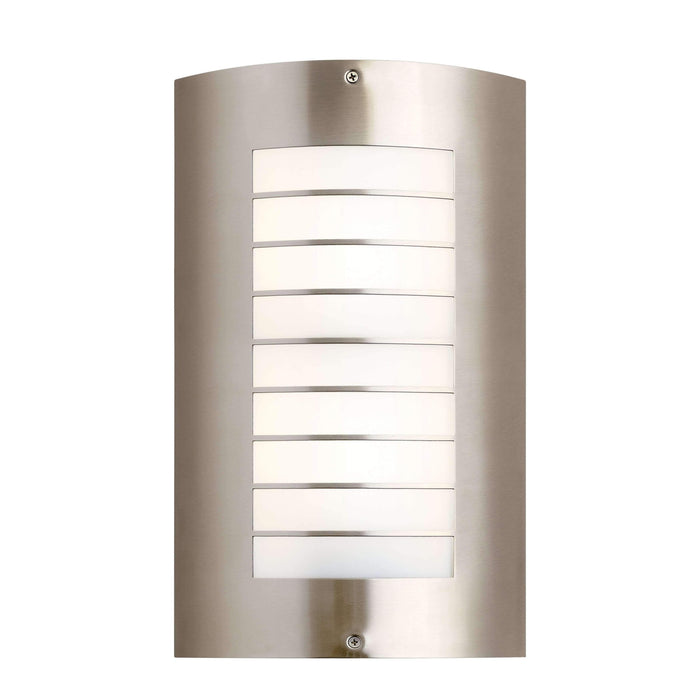 Newport Outdoor Wall 2 Light - Brushed Nickel