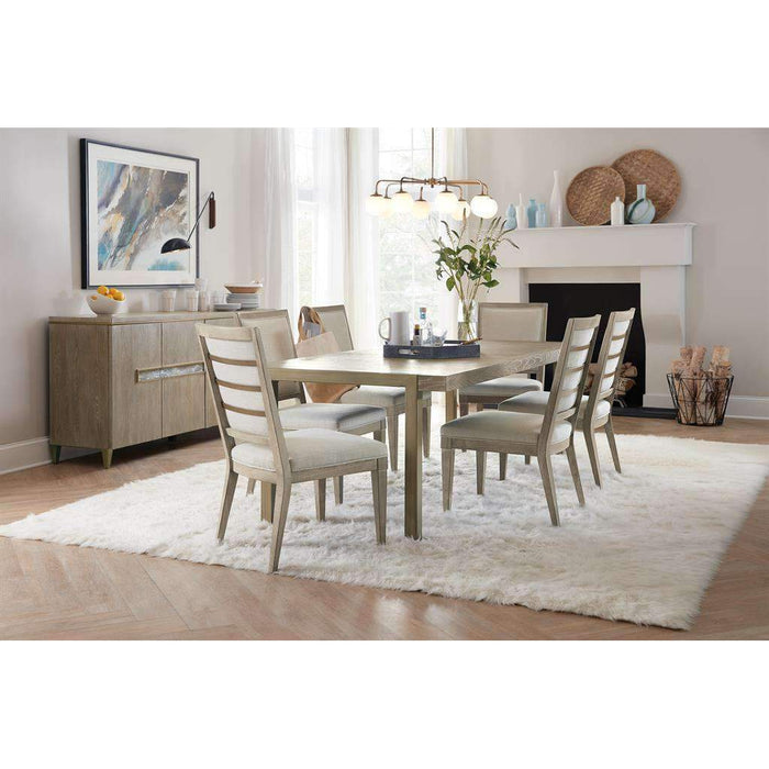 "Pacifica 78"" Rectangle Dining Table with 2 x 18"" Leaves"