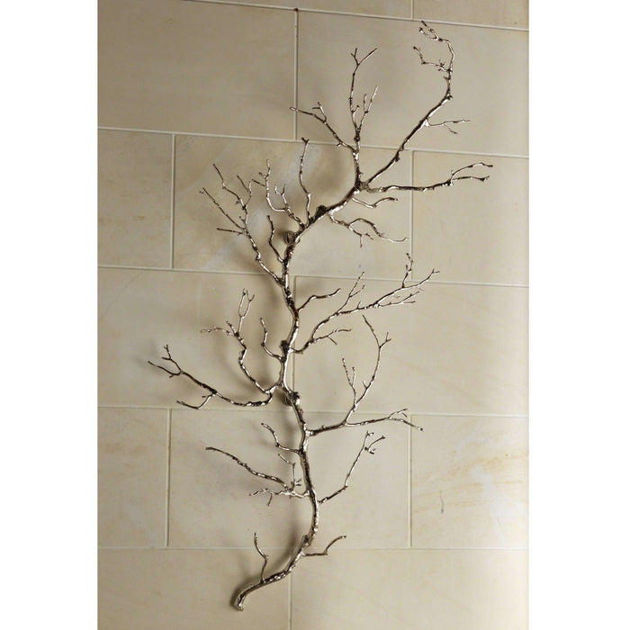 Twig Wall Art - Nickel