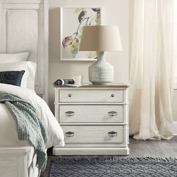 Montebello Three-Drawer Nightstand