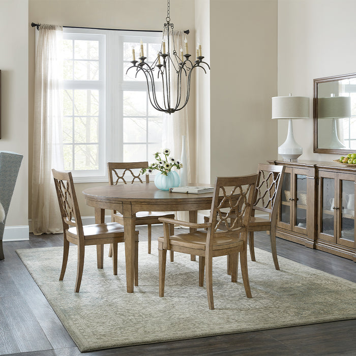 Montebello Extendable Round Dining Table