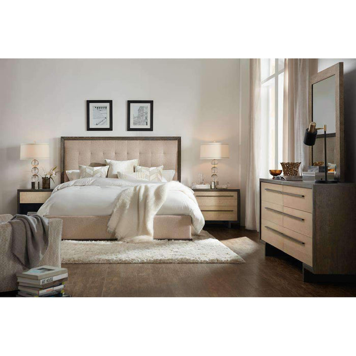 Miramar Point Reyes Angelico King Upholstered Panel Bed