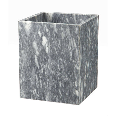 Myrtus Collection Cloud Gray Marble Waste Bin