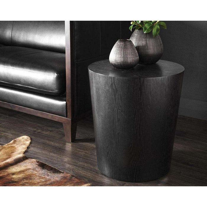 MONTAGUE END TABLE - ESPRESSO