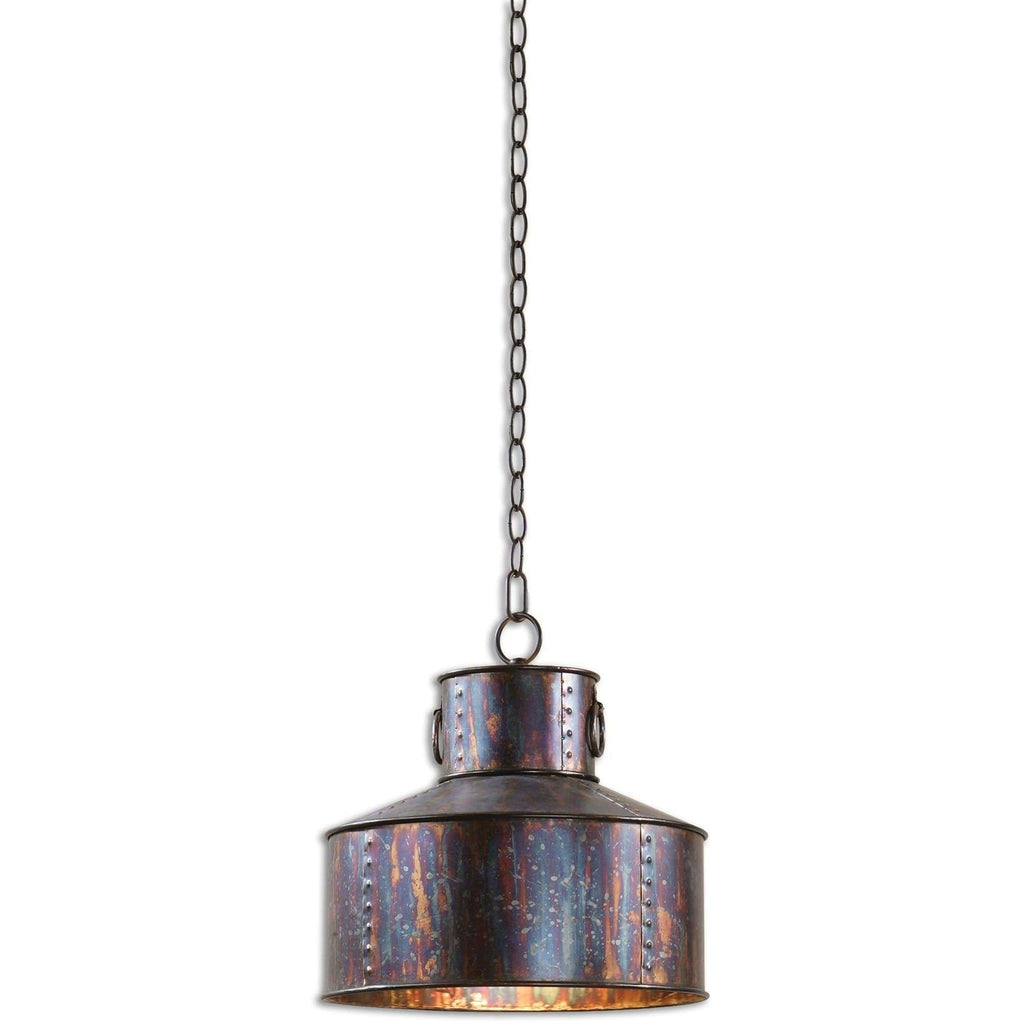 Uttermost Giaveno 1 Light Oxidized Bronze Pendant