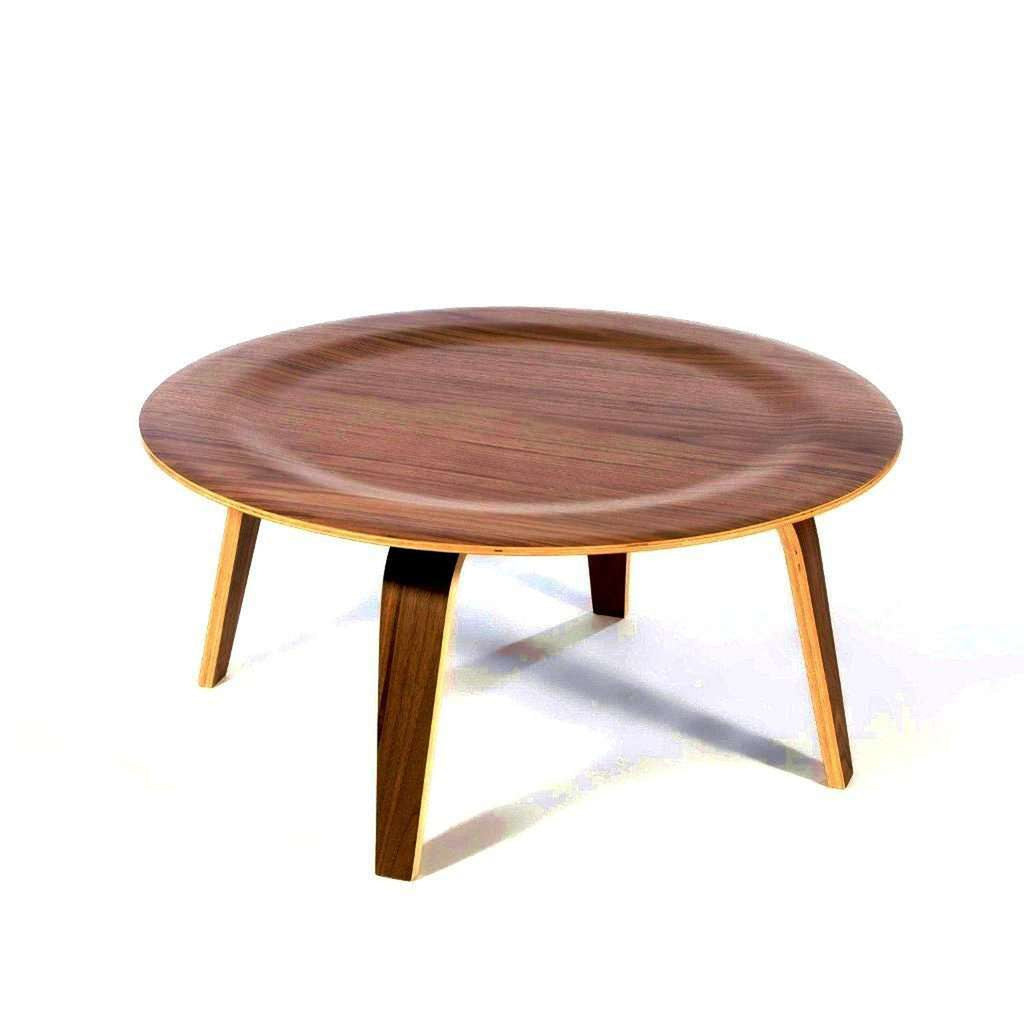 Mid-Century Modern Reproduction Molded Plywood Coffee Table Inspired by Charles and Ray E.