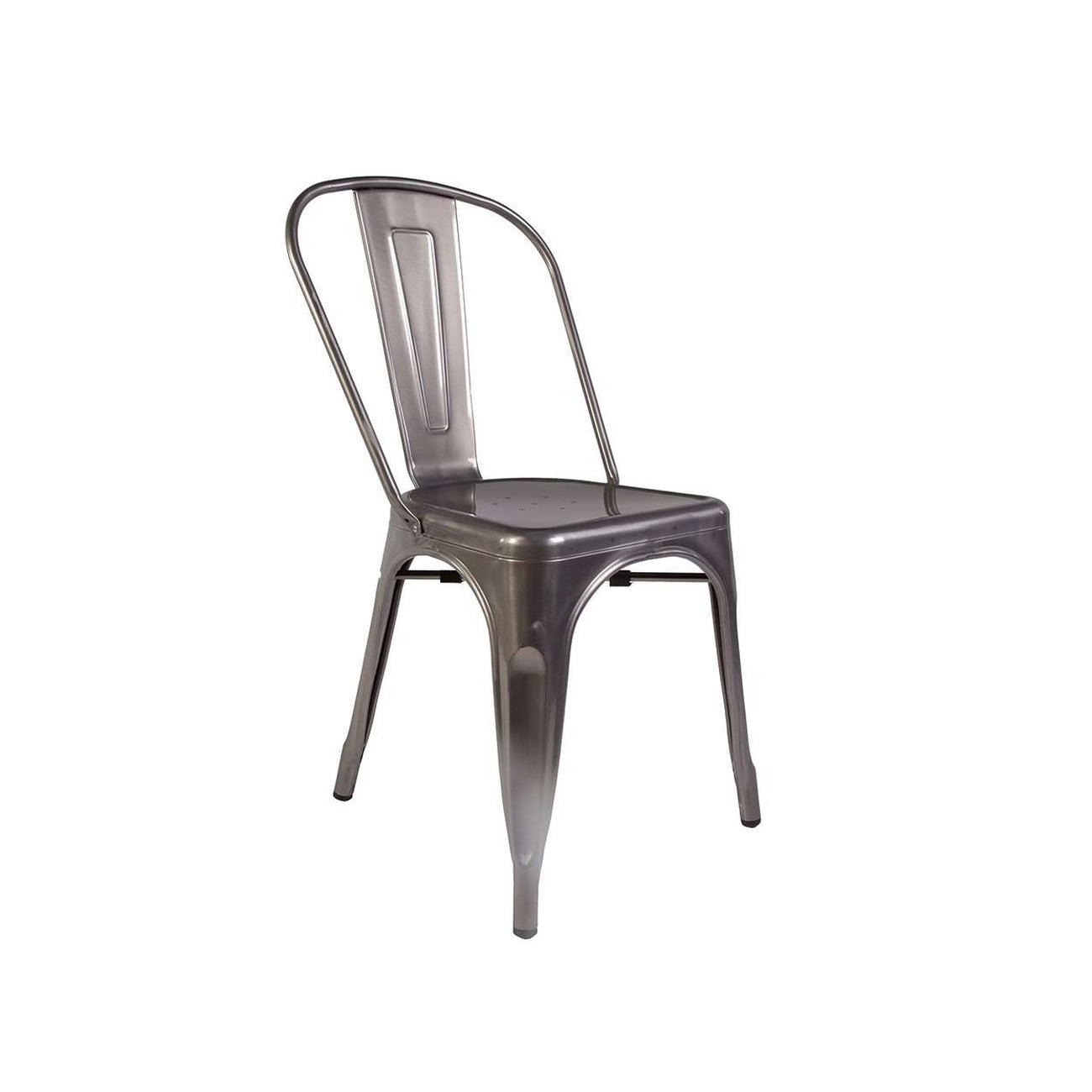 4 X Marais Side Chair Set In Gunmetal   *Free Local Shipping Only* [50gift]