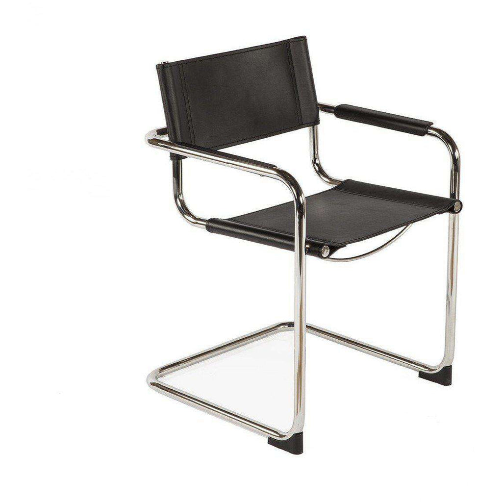 Modern Reproduction Cantilever Armchair Inspired by Mart Stam