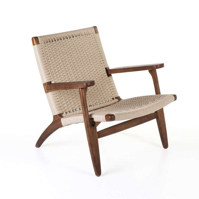 Hans Wegner CH25 Lounge Chair Walnut