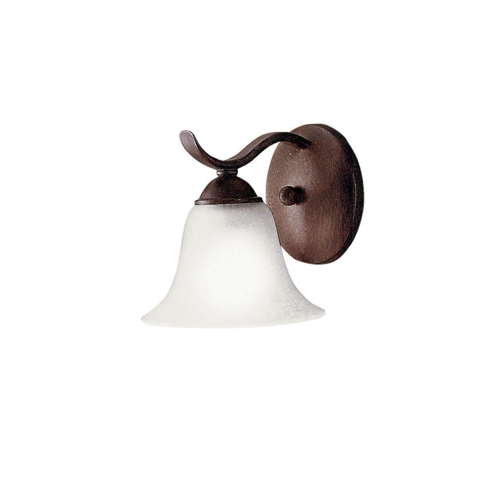 Dover Wall Sconce 1 Light - Tannery Bronze
