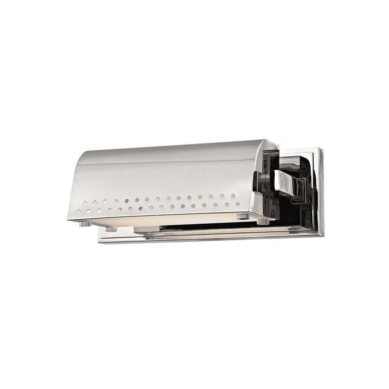Garfield Small Led Picture Light Polished Nickel
