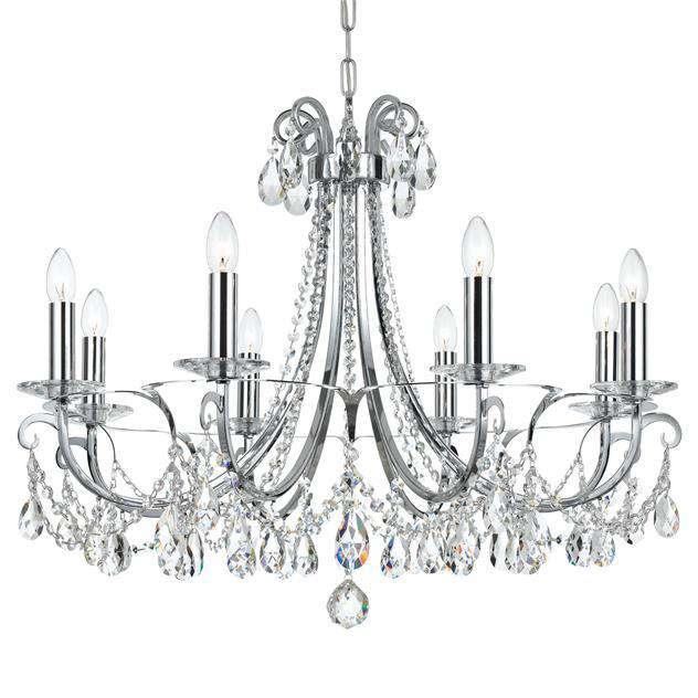 Othello 8 Light Chandelier