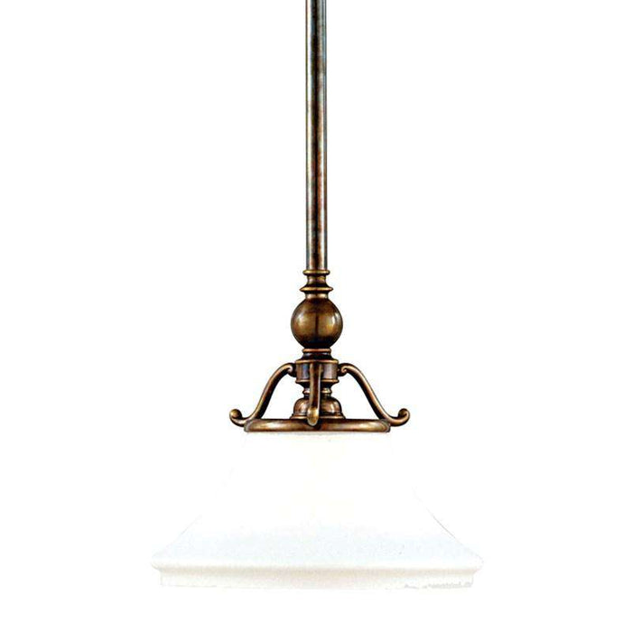 Orchard Park 1 Light Pendant Aged Brass