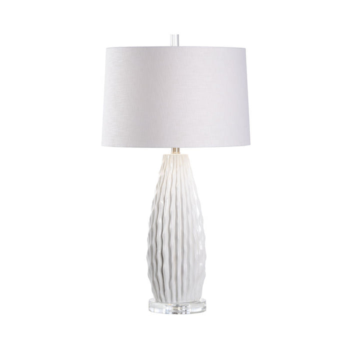 Saguaro Lamp - White