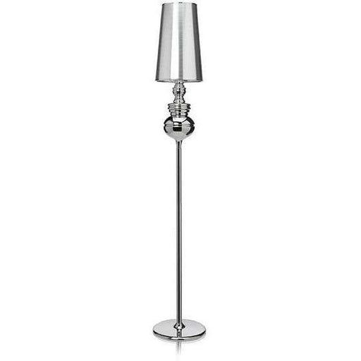 Mid-Century Modern Reproduction Josephine Floor Lamp - Chrome Inspired by Jaime Hayon