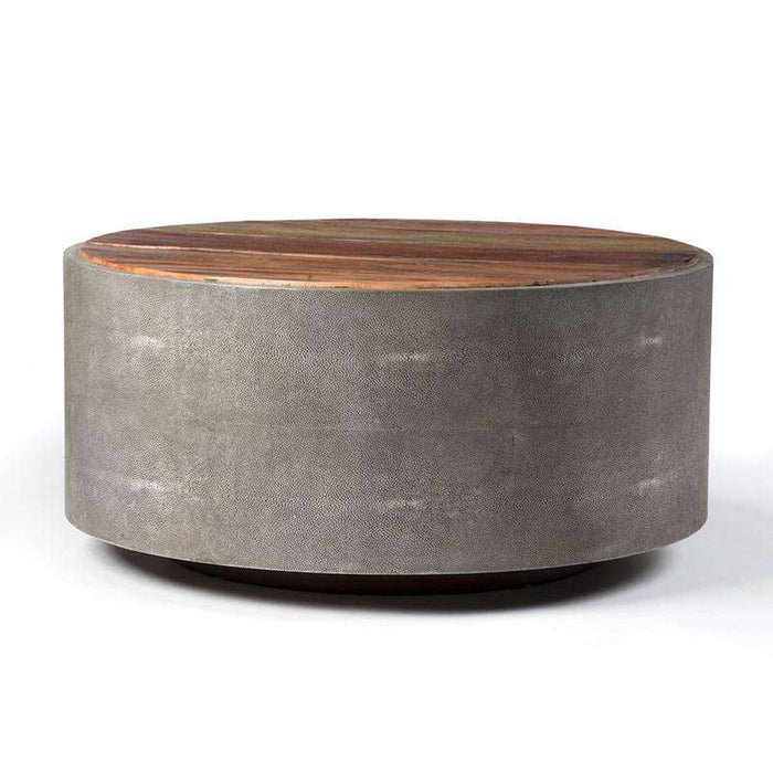 FOURHANDS-CROSBY ROUND COFFEE TABLE-FH-VBNA-CT998